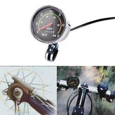 Tachimetro bici/bici stile vintage/contachilometri meccanico classico analogicoC