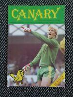 Norwich v Tottenham Spurs 1982 Programme 16/10/82! FREE UK POSTAGE! LAST ONE!!!