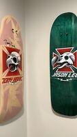Skateboard Deck Wall Hanger Mount 2 PACK w/ Free Sticker