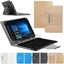 "For iPad 10.2"" 7th Gen 6th 5th iPad 4 3 2 9.7"" Wireless Keyboard with Case Cover"