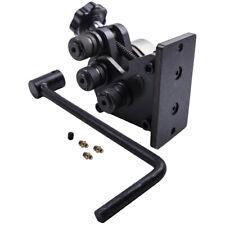 Ring Roller Manual Metal Bar Tube Flat Bender Machine 13 12 Handle Length
