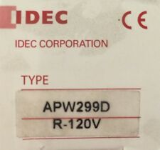 Idec Apw299D, R-120V Panel Mount Indicator Led 22Mm Red 120V