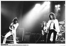 """QUEEN POSTER """"PALACE THEATRE MANCHESTER OCTOBER 1974"""""""