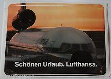 Aufkleber LUFTHANSA DC-10 Kranich 80er Werbung Sticker Autocollant Germany