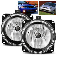 For 2005-2007 Ford Escape Fog Lights Bumper Driving Lamp Left/Right Assembly Set