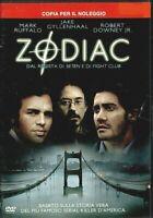 ZODIAC (2007) un film di David Fincher - DVD EX NOLEGGIO - WARNER