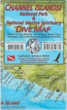 Channel Islands National Park Dive Map Waterproof Map by Frank Nielsen