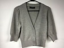 Club Monaco Merino Wool Gray Cardigan Sweater Pullover Cover Up New Size Small