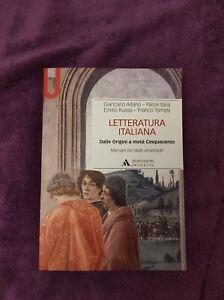 Letteratura Italiana, Dalle origini a metà cinquecento