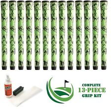 13 Winn Golf Dri-Tac DriTac X Performance Soft Green Grips 6DTX-GRB Midsize KIT
