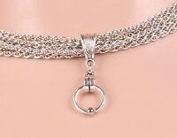 Halskette BELLATRIX Necklace SM Sklave Ring der O. Kette Fetisch O-Ring 50004