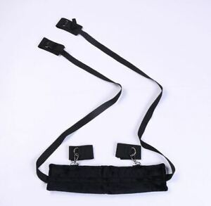 2 Styles Sex Slave Role Play Position Control Aid Portable Open Legs Thigh Sling
