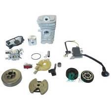 NEW 38MM Cylinder Piston Kit & Carburetor Oil Pump Fit Husqvarna 136 137 141 142