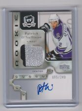 2006-07 UPPER DECK THE CUP PATRICK O'SULLIVAN UD RC AUTO PATCH ROOKIE /249 135