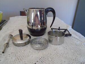 Farberware Superfast Electric Percolator Coffee Pot Model FCP - 240A 2 - 4 cup