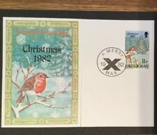 First Day Cover Christmas 1982 Isle Of Man