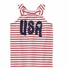 Gymboree USA Tank NWT Red White & Cute Size 12 Fourth of July 4th
