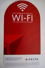 DELTA AIRLINES 2015 ON BOARD INTERNATIONAL WI-FI FLYER ACS-02080 Rev. 12-15