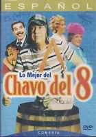 DVD  - Lo Mejor Del Chavo Del 8 ( Volumen 2 ) NEW El Chavo FAST SHIPPING !