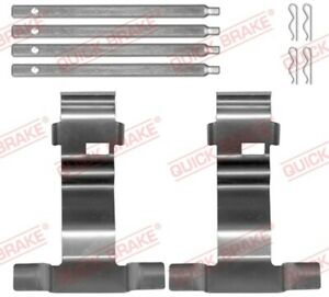 Zubehörsatz Scheibenbremsbelag QUICK BRAKE 109-0043 für VOLVO Q7 4LB AUDI 4F5 A6