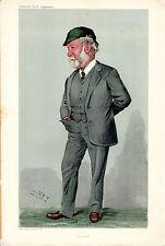 VANITY FAIR CARTONI ANIMATI-COSTRUTTORE NAVALE Sir John Isaac Thornycroft-spia (c.1900)