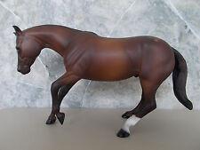 Peter Stone Dark Chestnut Performance Horse w/Roached Mane & Checkerboard Rump