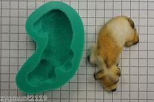 Sugarcraft Stampi Torta Decorazione Silicone Stampi Crafts riposo cane (2129)