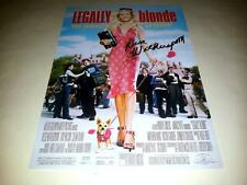 "LEGALLY BLONDE PP SIGNED 12""X8"" POSTER REESE WITHERSPOON"