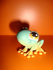A2 FIGURINE PETSHOP LITTLEST PET SHOP - GRENOUILLE YEUX ORANGES ORANJE FROG