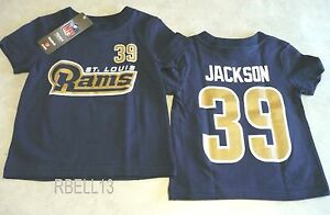 Reebok NFL ST. LOUIS RAMS (STEVEN JACKSON-39) Tee Baby Sizes-New With Tags