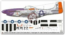 Peddinghaus 1/72 P-51B-15NA Mustang Markings George Preddy England 1944 1906