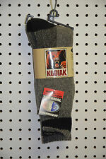 New kodiak thermal socks wool blend  color charcoal size 10-13 ( bte#82)