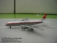 Gemini Jets Swissair Douglas DC-8-32 in Old Color Diecast Model 1:400