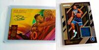 Josh Okogie RC Auto #/199 Fresh Paint Rookie Prizm Jersey Timberwolves Autograph
