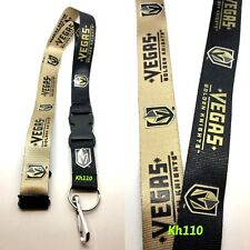 NHL Vegas Golden Knights Twotone Clip On Lanyard-New