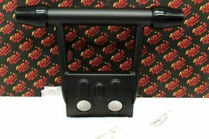 New Oem Factory Banshee 1987-2006 Front Atv Bumper Guard + Rubber End Caps Black