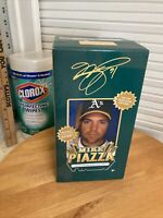 Mike Piazza Bobblehead Oakland Athletics A's SGA 2007 NIB MLB Hall Of Fame