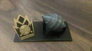 Red Dwarf Arnold Rimmer Display Light Bee Badge Stand Memorial Tribute Fan Art