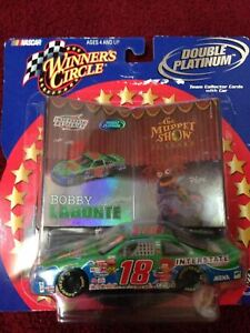 2002 NASCAR Winners Circle Double Platinum #18 Bobby Labonte
