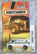 Matchbox City Action 5/12 Chevy Van City Services Water & Power Radio Dispatched