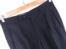 FV118 vintage pantalons plissés original premium made in italy laine pure taille W32L32