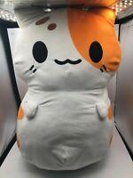 Jumbo Kleptocats Leo Cat Plush Kids Soft Stuffed Toy Animal White Hyperbeard