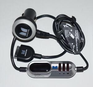 MONSTER ICARPLAY WIRELESS PLUS FM TRANSMITTER/CHARGER FOR IPHONE 3G 4 4S IPOD V2