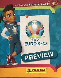 Panini album complete Euro 2020 Preview