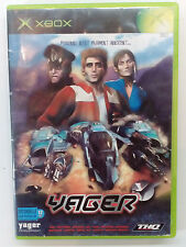 XBOX YAGER -no manual- EUROPEAN PAL USED (We combine shipping)