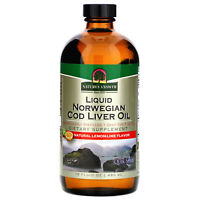 Nature s Answer  Liquid Norwegian Cod Liver Oil  Natural Lemon-Lime Flavor  16
