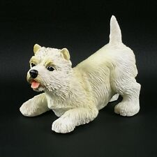 Westie at Play Figurine West Highland White Terrier New in Box Nib