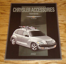 Original 2002 Chrysler PT Cruiser Mopar Accessories Sales Brochure 02