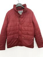 JOULES Women's Coat  Quilted Jacket Berry Red Autumn/Winter  UK Size 12 medium