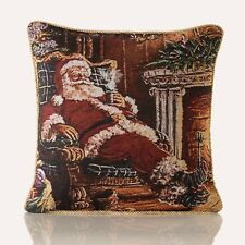 """Christmas Tapestry Cushion Covers in lots of  designs, 18""""x18"""", Lovely quality"""